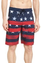 O'Neill Men's Hyperfreak Star Spangled Board Shorts