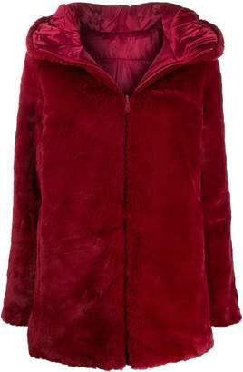 Save The Duck reversible faux fur coat