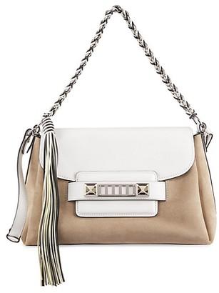 Proenza Schouler PS11 Soft Classic Leather Suede Shoulder Bag