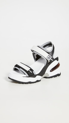 Ash Deep Wedge Sandals
