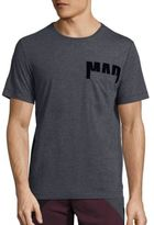 Madison Supply Barcode Logo Pocket Tee