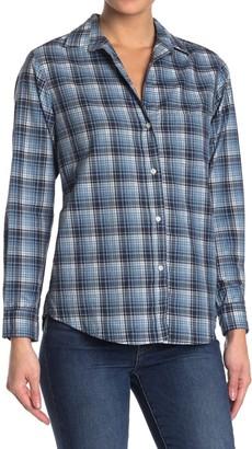 Grayson The Hero Blue Plaid Cotton Shirt