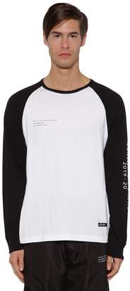 Moncler Genius Fragment L/s Cotton Jersey T-shirt