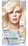 L'Oreal Feria Absolute Platinums Hair Color, Extreme Platinum (Packaging May Vary)