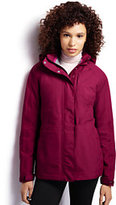 Lands' End Women's 3L Shell Jacket-Bright Burgundy