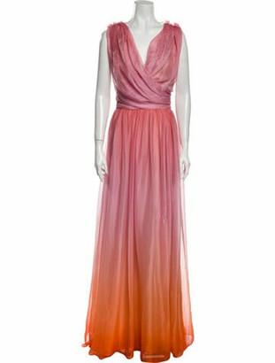 Oscar de la Renta 2020 Long Dress w/ Tags Pink