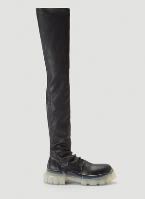 Rick Owens Bozo Tractor Stocking Boots