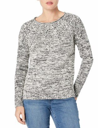 Chaps Women's Petite Cable Knit Cotton Sweater