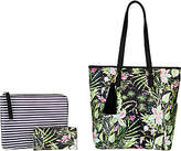 Dena North/South Shopper_with Pouch and Wallet