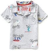 Joules Baby/Little Boys 12 Months-3T Bike Polo Shirt