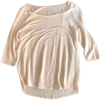 Pablo Pink Linen Top for Women