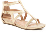 Kenneth Cole Reaction Lost Time Snake Print Sandal