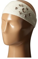 Lauren Ralph Lauren Jewel Encrested Waffle Stitch Headband