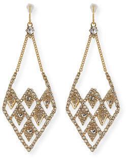 Alexis Bittar Lattice Wire Drop Earrings