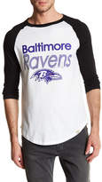 Junk Food Clothing Baltimore Ravens Baseball Tee