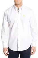 Thomas Dean 'LSU Tigers' Regular Fit Long Sleeve Sport Shirt