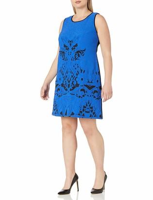 Julia Jordan Women's Plus Size Geo Dress