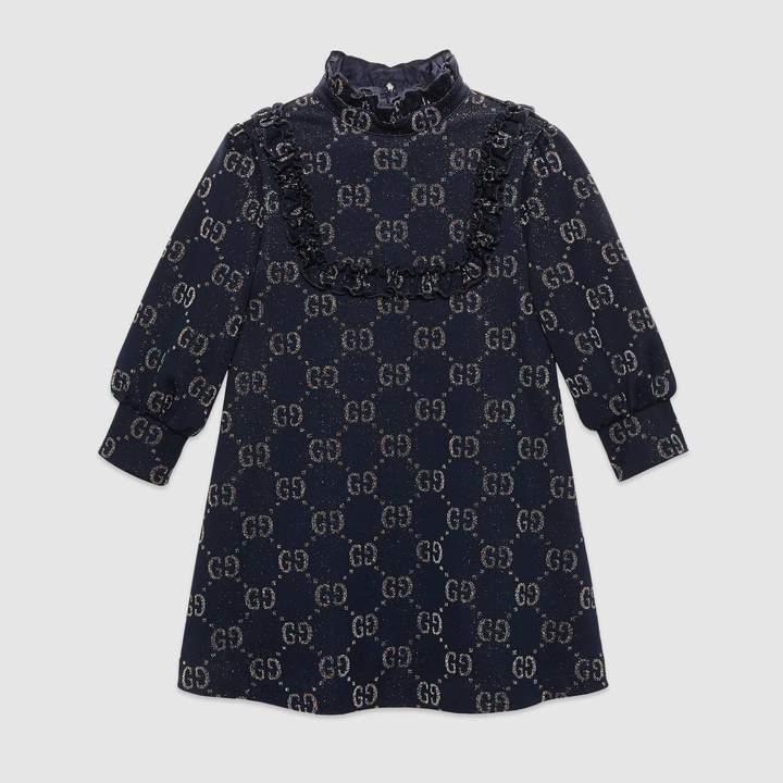 Gucci Children's GG lame dress
