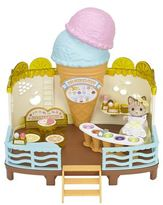Sylvanian Families Seaside Ice Cream Shop
