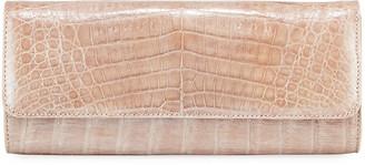 Judith Leiber Couture Kate Caiman Crocodile Clutch Bag