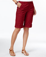 Style&Co. Style & Co Cuffed Bermuda Shorts, Only at Macy's