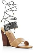 Splendid Kenya Lace Up High Heel Sandals