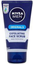 Nivea MEN Original Exfoliating Face Scrub 75ml