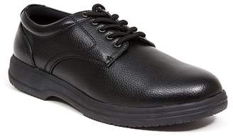 Deer Stags Service Faux Leather Derby - Wide Width Available