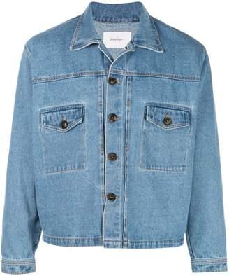 Second/Layer indigo denim jacket