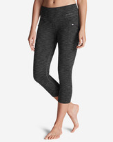 Eddie Bauer Women's Trail Tight Capris - 2D Heather