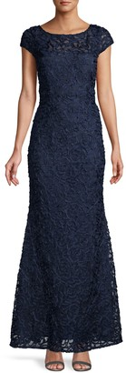 JS Collections Soutache Mermaid Gown
