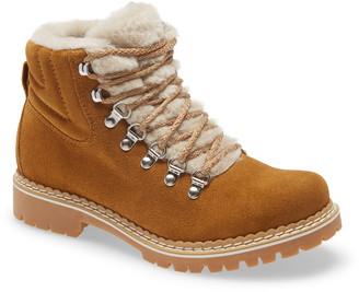 Montelliana Camelia Genuine Shearling Lined Boot