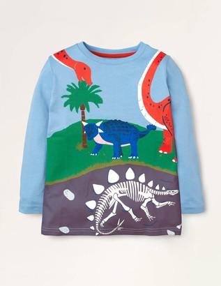 Prehistoric Scene T-shirt