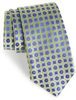 Nordstrom Criss Cross Geometric Silk Tie