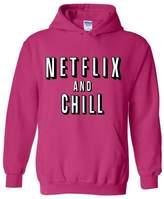 Artix Netflix and Chill Fashion People Couples Gifts Best Friend Gifts Unisex Hoodie Sweatshirt