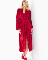 Soma Intimates Long Plush Robe Ruby