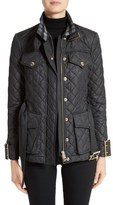 Burberry Haddingfield Quilted Field Jacket