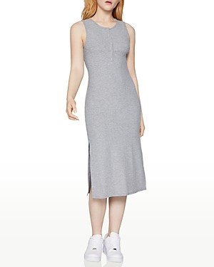 BCBGeneration Henley Tank-Top Midi Dress