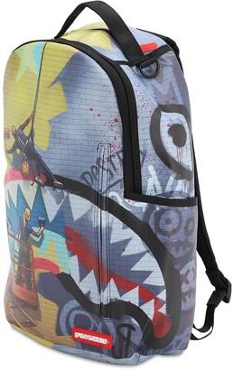 Rapellers Printed Canvas Backpack