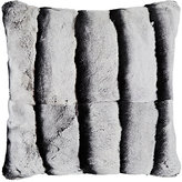 Adrienne Landau Rabbit Fur Pillow