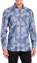 Jared Lang Woven Pattern Shirt