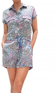BILLY T Walk In The Park Floral Print Romper