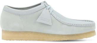 Clarks Suede & Leather Wallabee Lace-up Shoes
