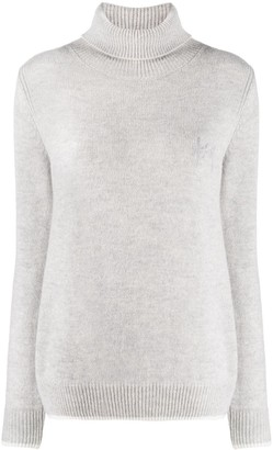 MSGM Roll Neck Cashmere-Blend Jumper