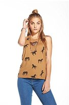 Chaser Women's 'Off to Pasture' Tank (Small)
