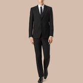 Burberry Modern Fit Wool Mohair Part-canvas Suit