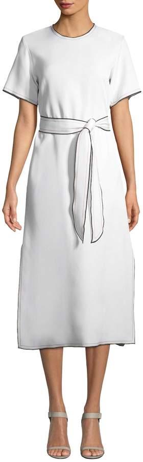 Derek Lam Women's Belted A-LineDress