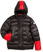 Moncler Boys' Drake Colorblock Down Jacket, Size 8-14