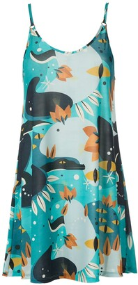 Lygia & Nanny Kolaka printed jersey dress