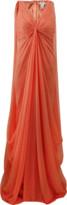 Pamella Roland Full Drape Chiffon Gown